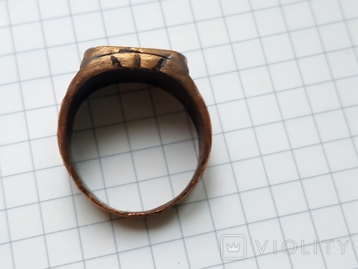 Перстень, окопное творчество, фото №3