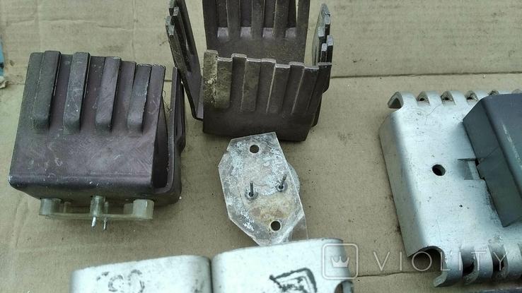 Радиаторы с радиодеталями - 1.2 кг., фото №4