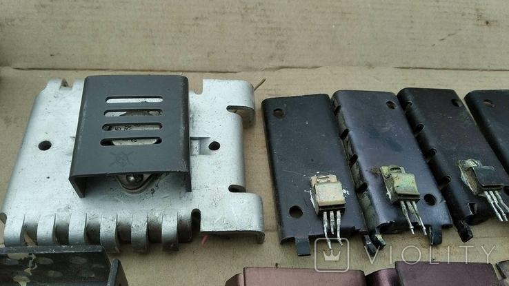 Радиаторы с радиодеталями - 1.2 кг., фото №5