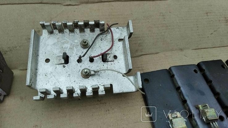 Радиаторы с радиодеталями - 1.2 кг., фото №6