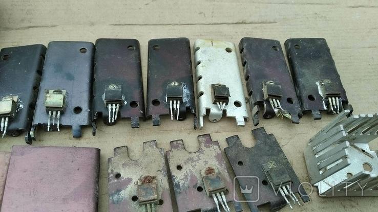 Радиаторы с радиодеталями - 1.2 кг., фото №7