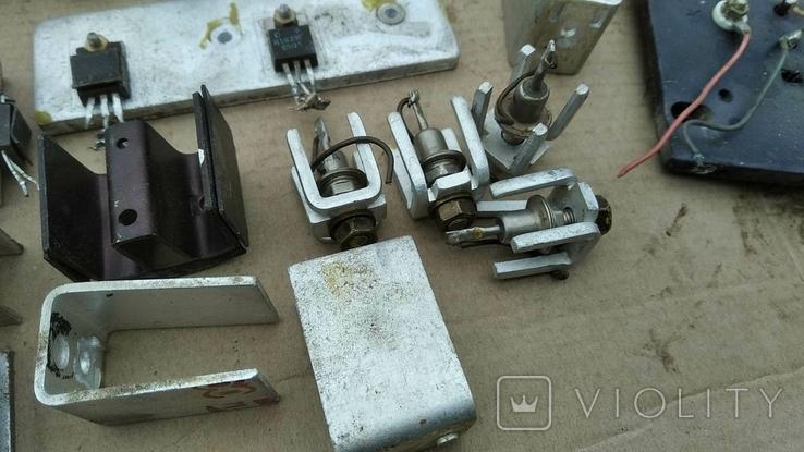 Радиаторы с радиодеталями - 1.2 кг., фото №11
