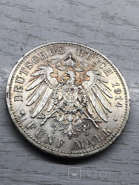 5 марок 1914, фото №8