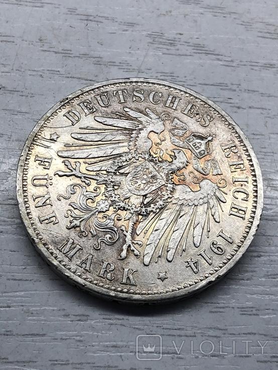 5 марок 1914, фото №9