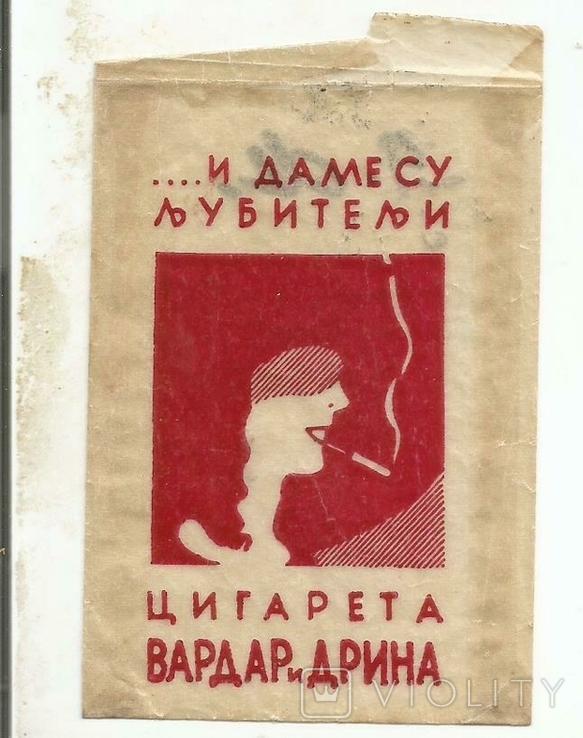 Реклама табачная 1920-е Сигареты дамские Табак