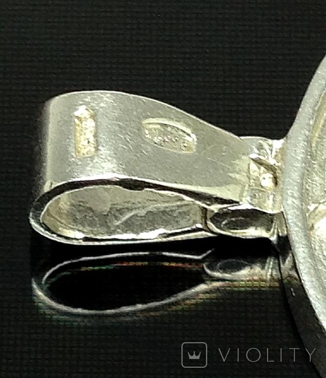 Кулон, циркон, фото №4