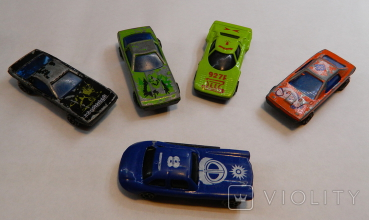 Машинки 5 штук, фото №2