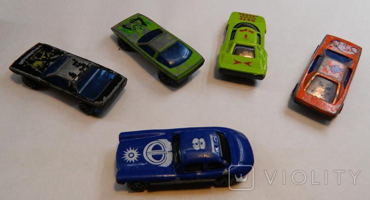 Машинки 5 штук, фото №3