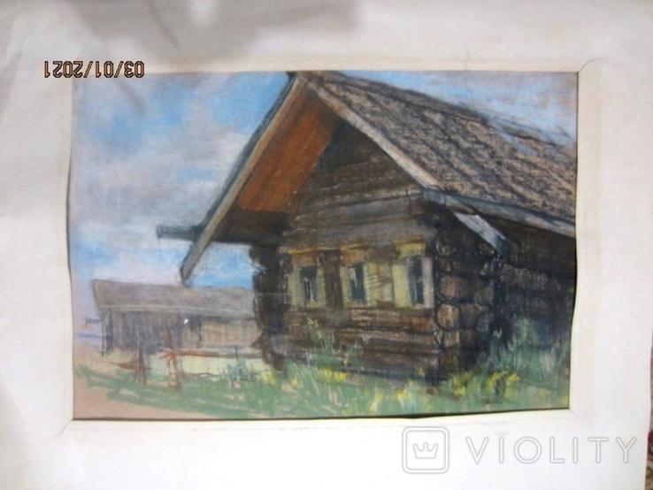 Тучков пастель 1980, фото №2
