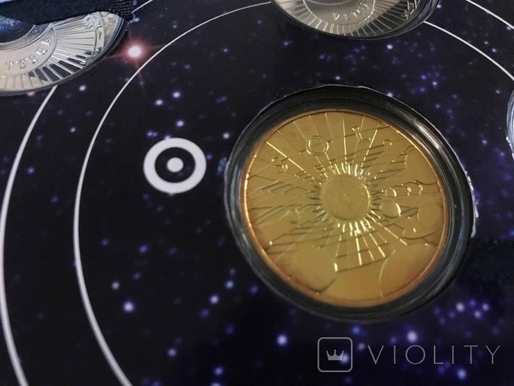 Набор серебряных монет Солнечная система, фото №3