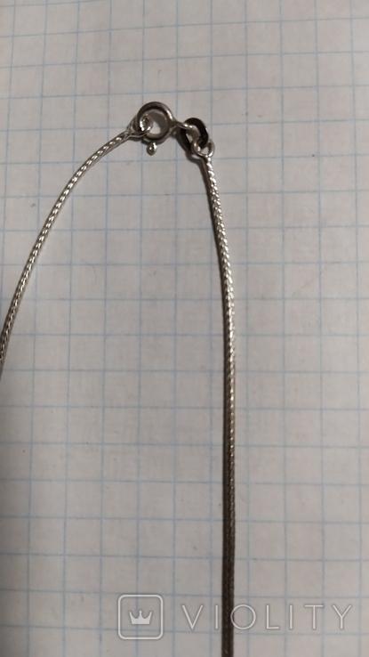 Серебренная цепочка с кулоном.2., фото №5