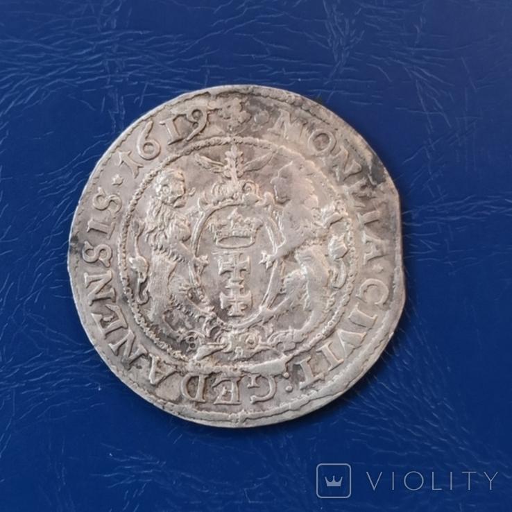 Орт 1619 г. Перерезка года или брак штемпеля., фото №2