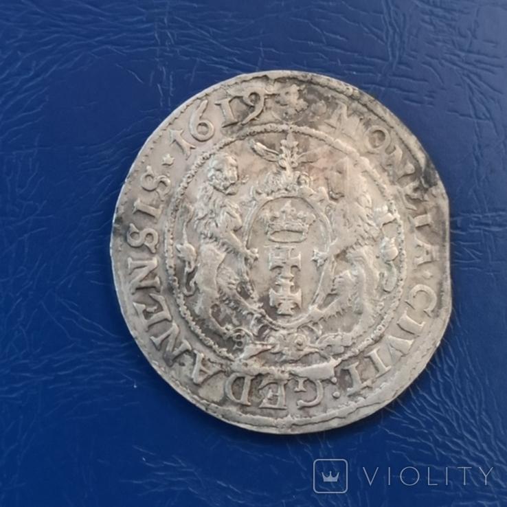 Орт 1619 г. Перерезка года или брак штемпеля., фото №5