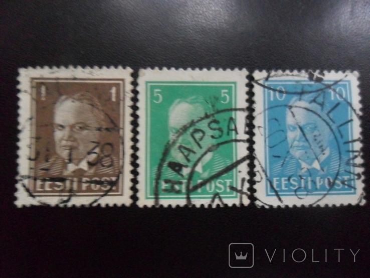 Эстония. 1936 г. Президент. гаш