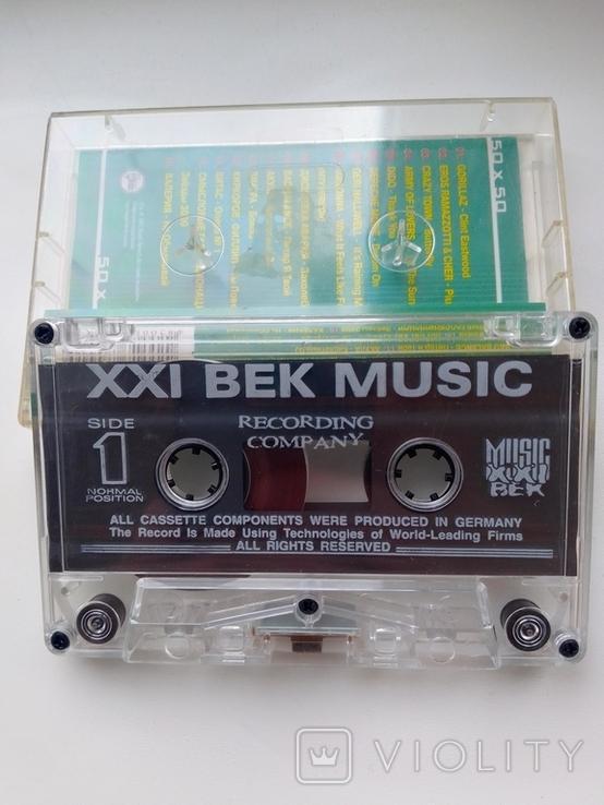 Аудиокассета с музыкальным сборником 2001 г, фото №6