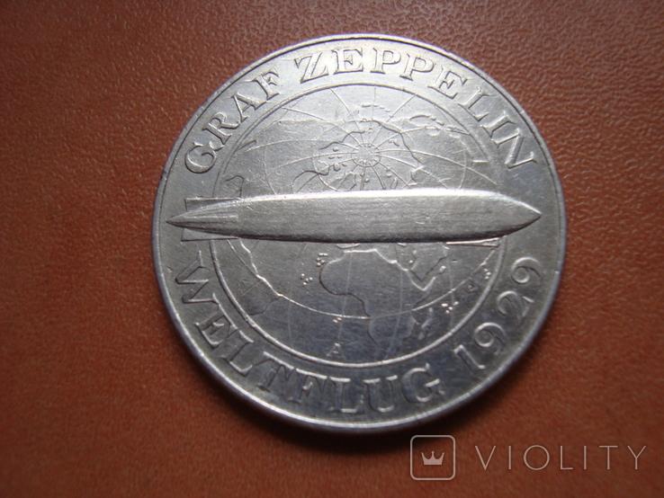 5 марок 1930 р -- Цепелін