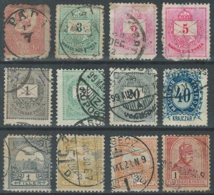 4а09 Австро-Венгрия/Венгрия 1871-1900