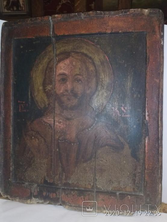 Старая Икона Святого Не выкуп лота, фото №4
