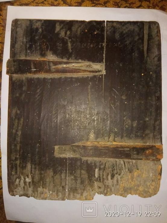 Старая Икона Святого Не выкуп лота, фото №5