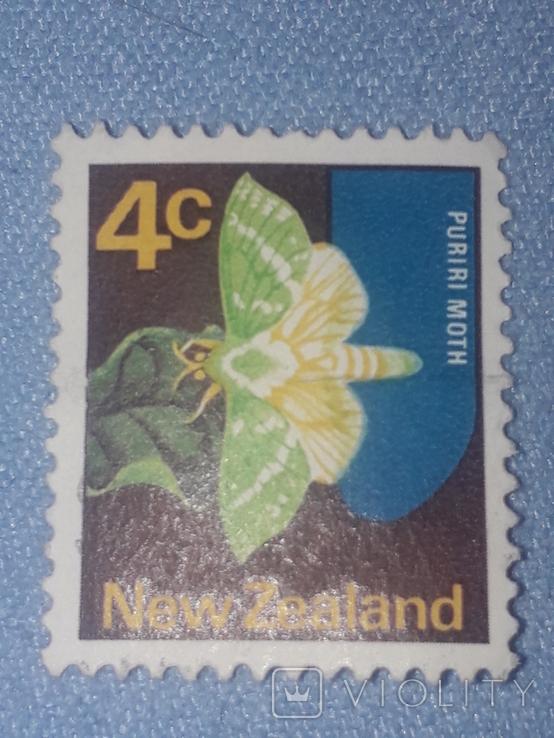 Почтовая марка Новая Зеландия, фото №2