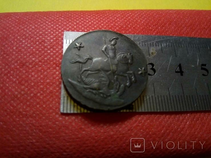 2 копійки/грош/ 1762  року . Проба. Копія - не магнітна, мідна, фото №4
