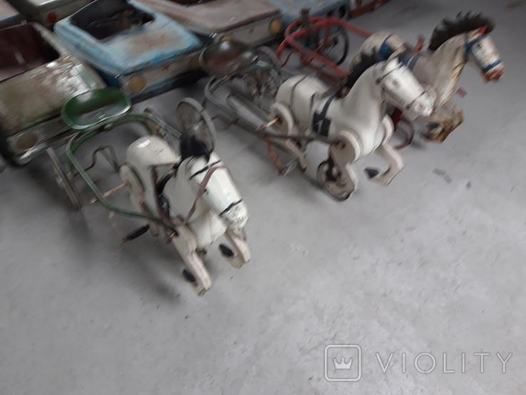 Педальный машинки СССР 36шт, фото №9