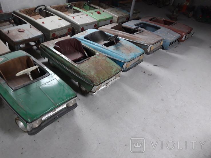 Педальный машинки СССР 36шт, фото №11