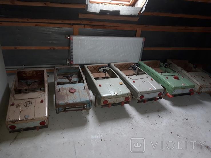 Педальный машинки СССР 36шт, фото №12