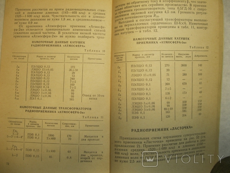 Л.Светлаков Справочник по малогабаритным радиоприемникам 1966г., фото №5