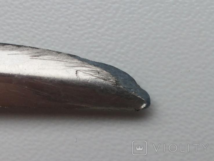 Нож для бумаги вставка герб Carcassonne эмаль, фото №10