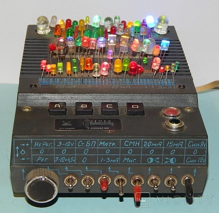 Прибор для проверки любых светодиодов, фото №3