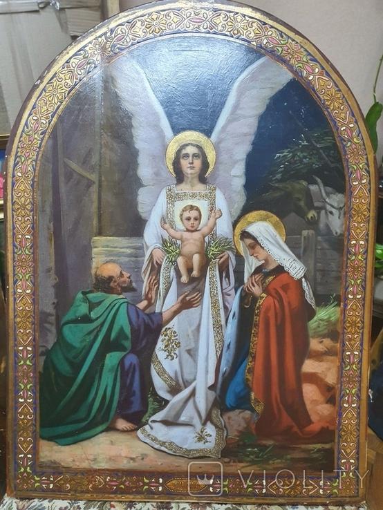 "Икона ""Рождество Иисуса Христа "", фото №2"