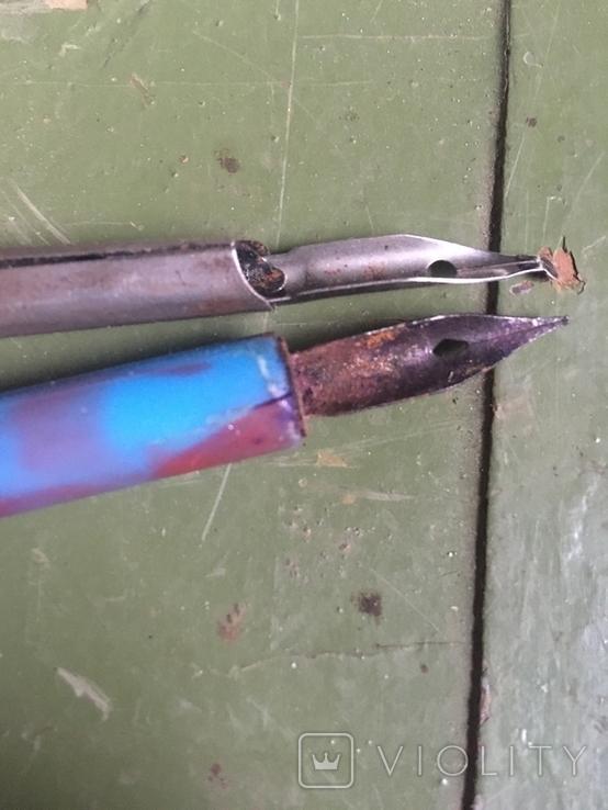 Перьевая ручка 2 шт. и перья 32 шт, фото №3