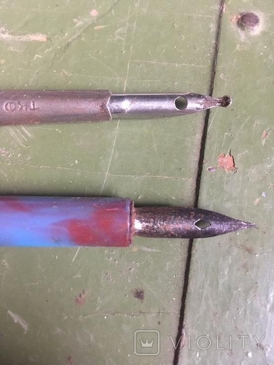 Перьевая ручка 2 шт. и перья 32 шт, фото №4