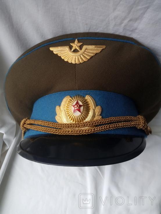 Фуражка офицерская ВВС СССР, фото №9