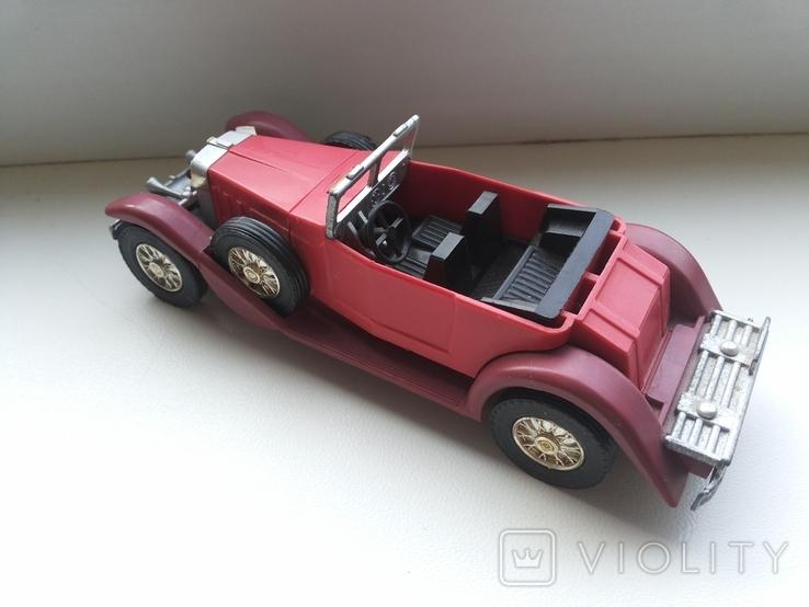Автомобиль ИА-1933 со сложенным тентом СССР Северодонецк, фото №2