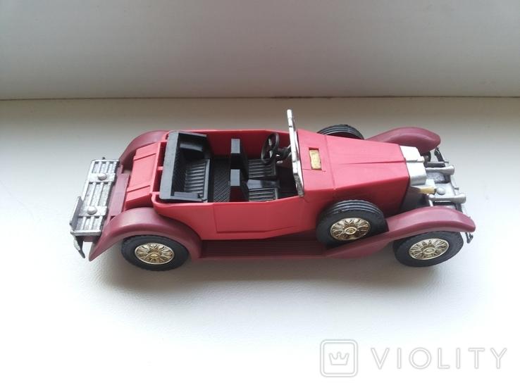 Автомобиль ИА-1933 со сложенным тентом СССР Северодонецк, фото №4