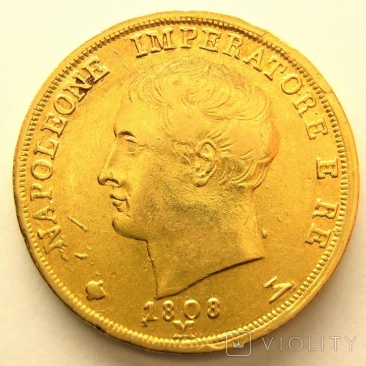 Италия  20 лир 1808 г.