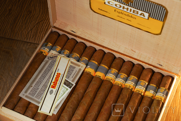 Сигары COHIBA Esplendidos, фото №5