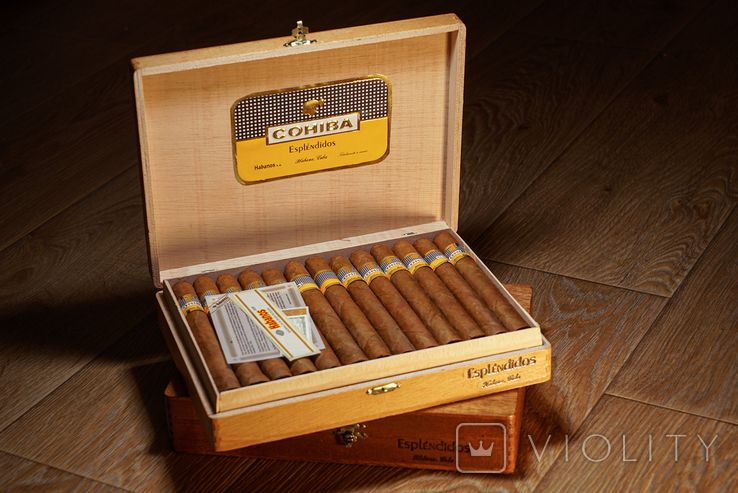 Сигары COHIBA Esplendidos, фото №2