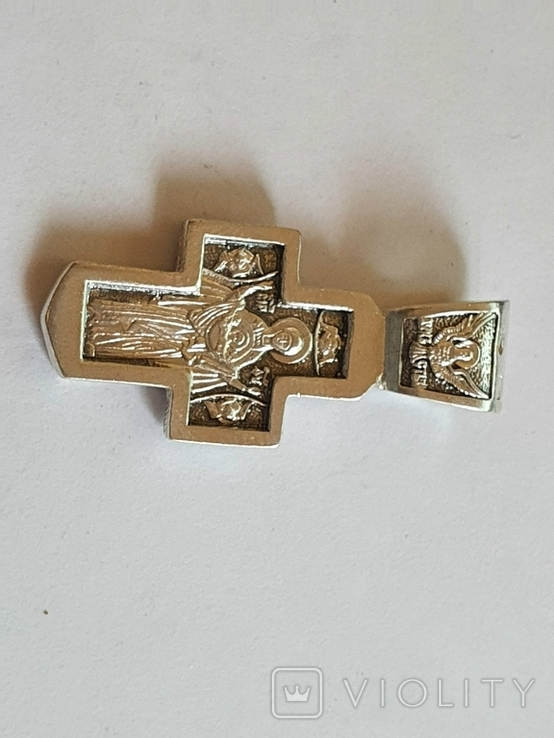 Крестик нательный. Серебро 925., фото №5