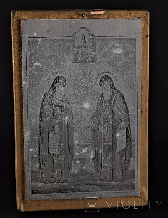 Икона Плакетка Гравюра, фото №2