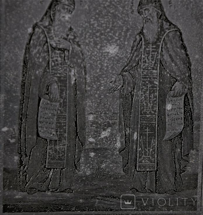 Икона Плакетка Гравюра, фото №6