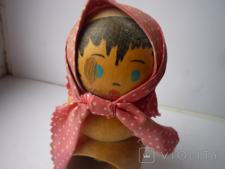 Деревянная лялька орехоколка, фото №3