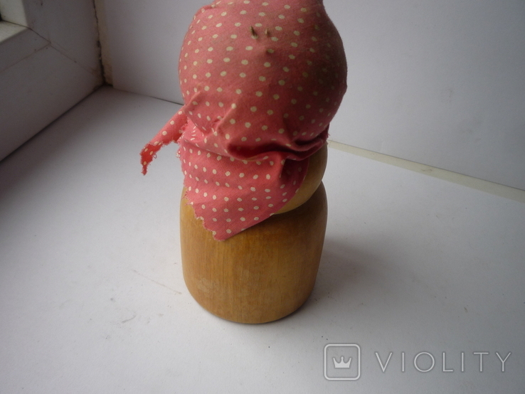 Деревянная лялька орехоколка, фото №5