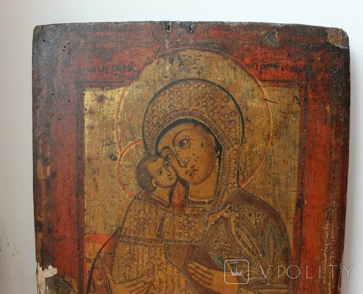 Ікона Богородиця з Дитям, фото №3