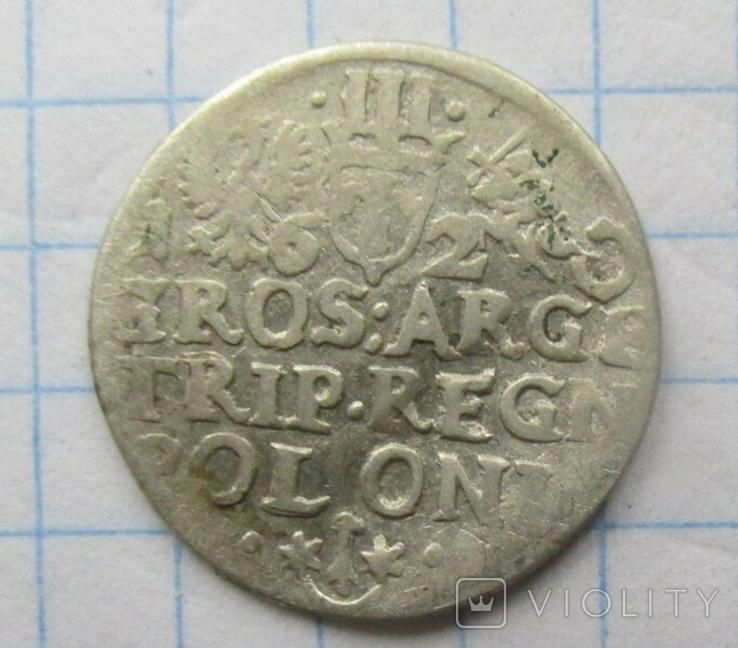 Трояк 1620г, фото №3