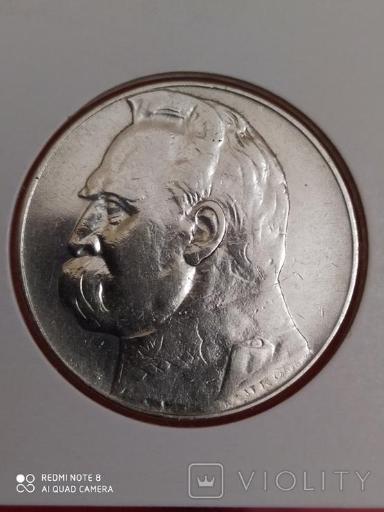 10 Злотых 1935 год., фото №2