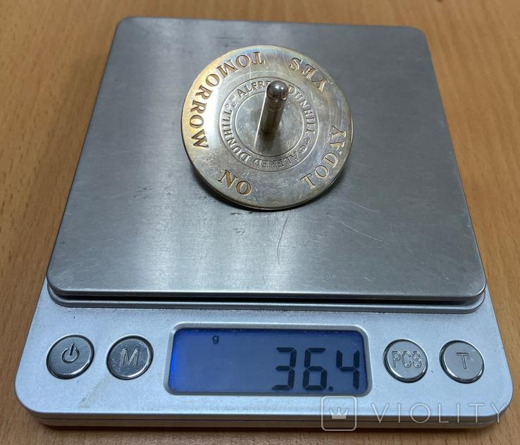 Волчок из серебра 925 пробы, фото №7