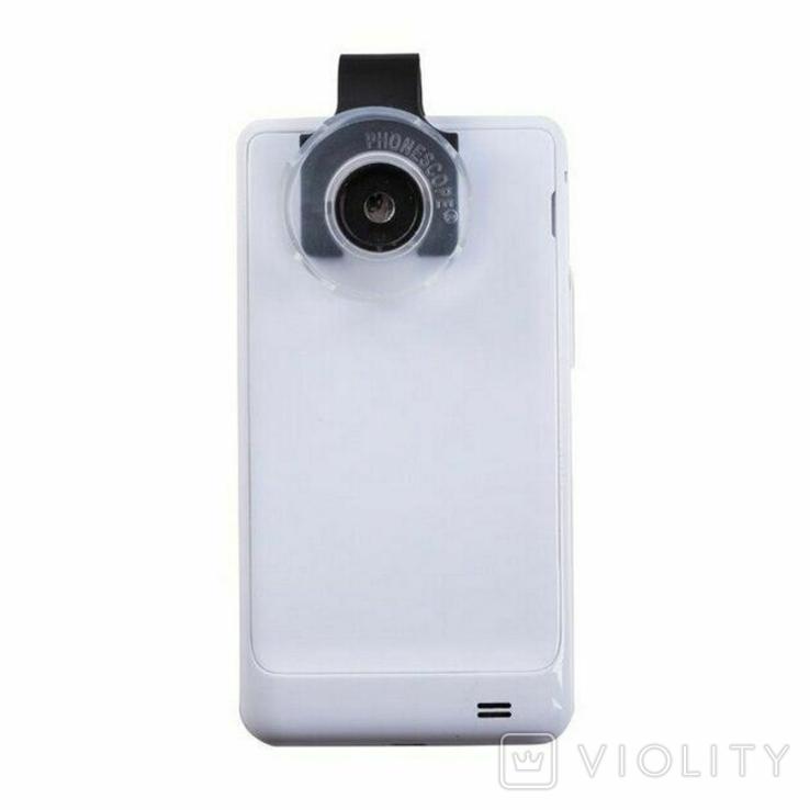 Макролинза для смартфона с увеличением 60 крат. LEUCHTTURM. 345620, фото №3